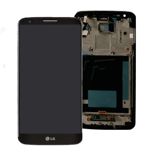 ال سی دی ال جی جی2 با فریم- LCD LG G2/D800/D802 Full