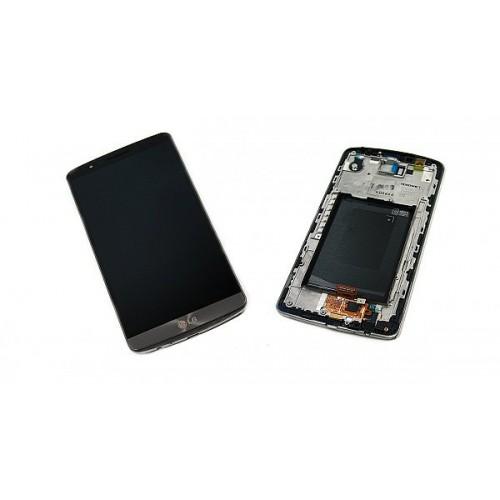 ال سی دی ال جی جی3 با فریم- LCD LG G3/D850/D851/D852 Full