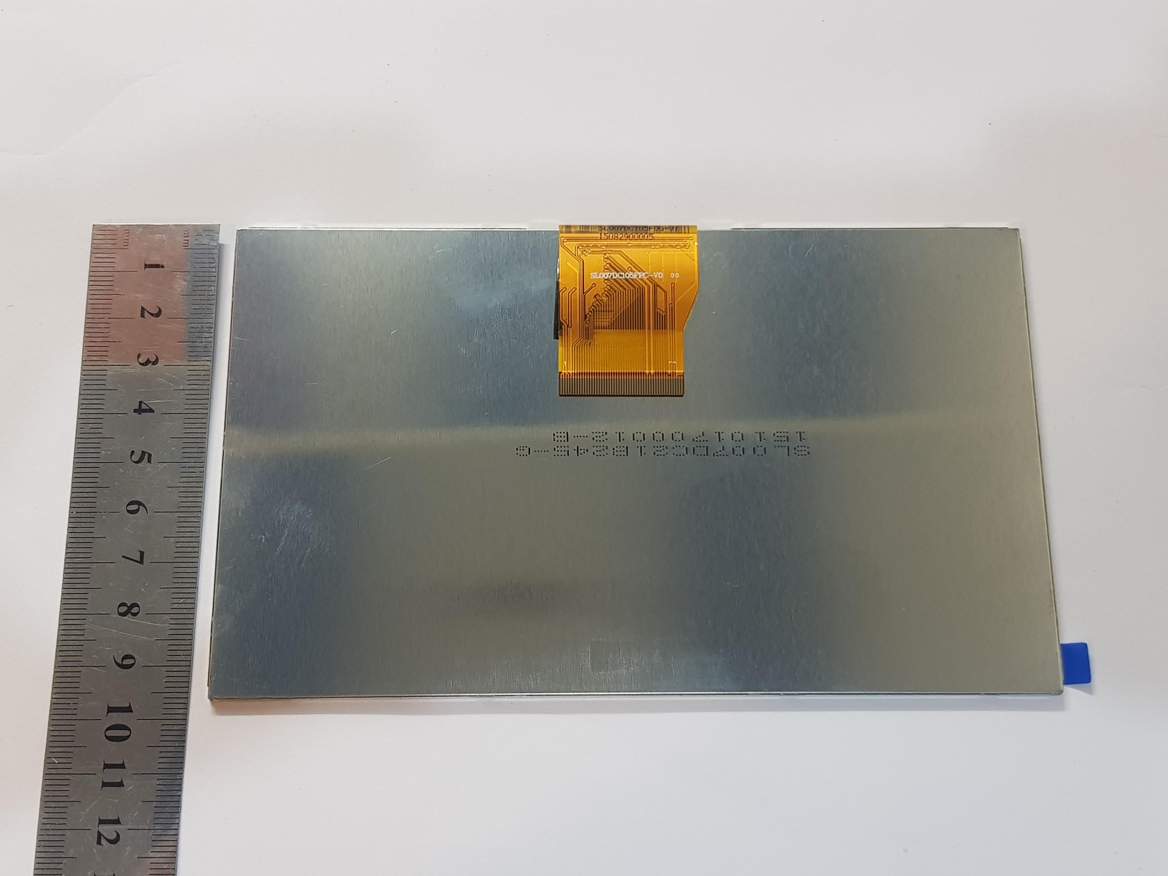 ال سی دی تبلت چینی 50 پایه فلت کوتاه - LCD CHINA 50 Pin Short FLAT TABLET