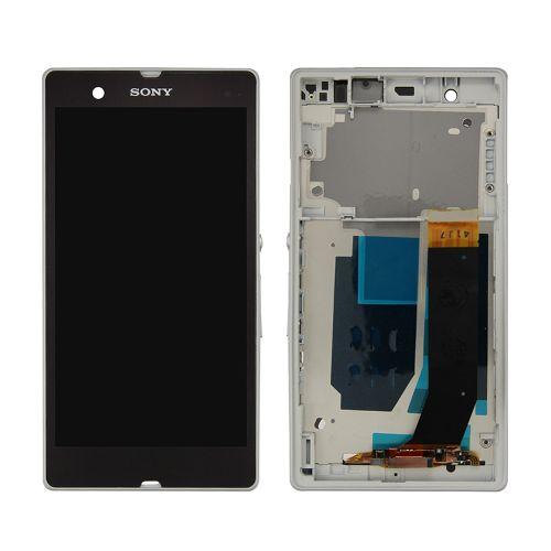 ال سی دی سونی اکسپریا زد با فریم - LCD SONY XPERIA Z/C6603/C6602/LT36 Full